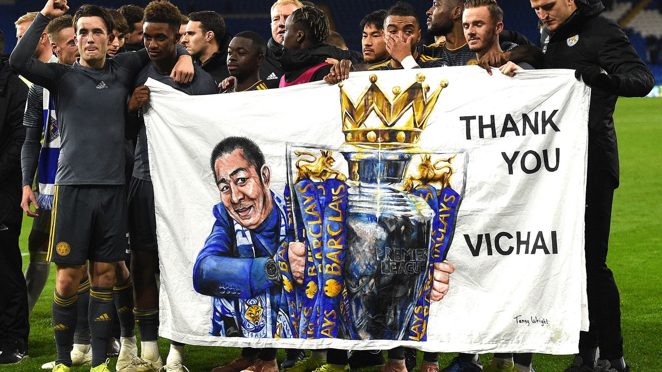 Leicester City dedicate their 1-0 win at Cardiff to their late owner Vichai Srivaddhanaprabha