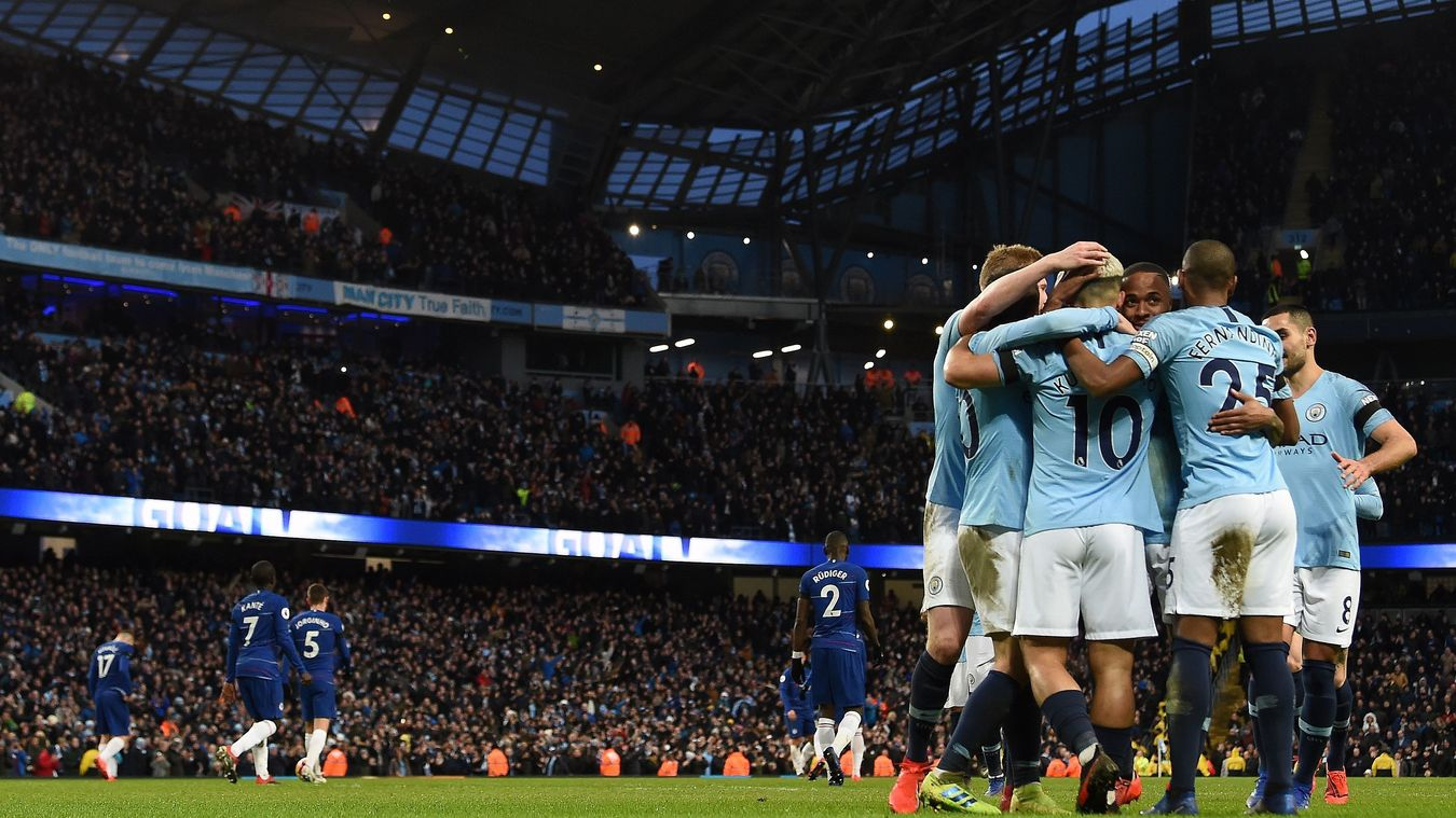 Man City blew Chelsea away, scoring 6 in front of their home crowd