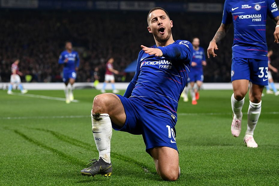 Chelsea pay tribute to Hazard