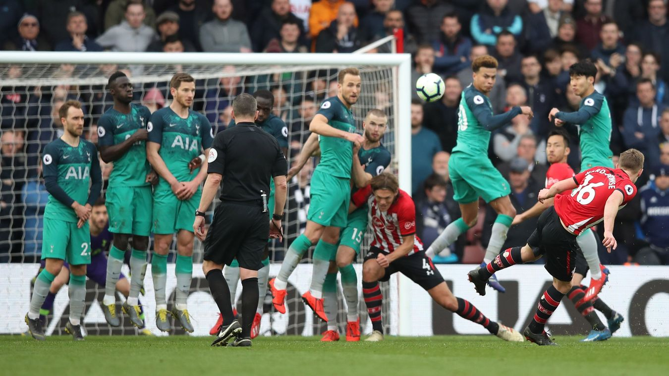James Ward-Prowse's sixth goal in nine games was enough to sink Spurs at St. Mary's