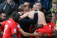 Iconic Moment: Lallana seals epic Liverpool win at Norwich