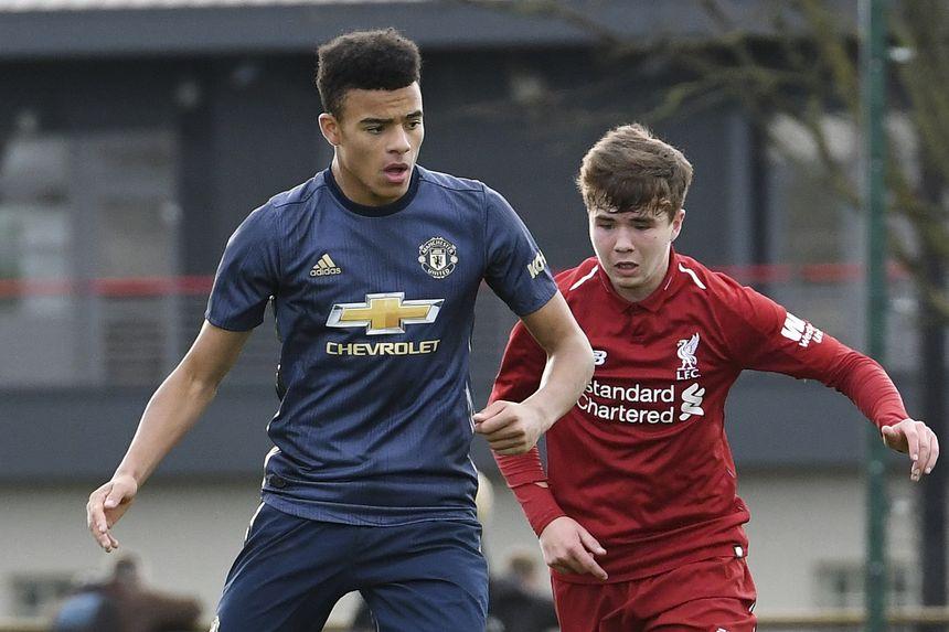 Man Utd v Liverpool at Under-18 level in 2018/19