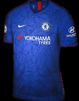 Chelsea home kit, 2019-20