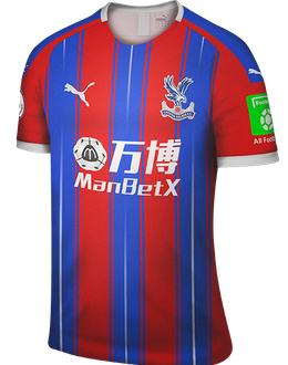 Crystal Palace home kit, 2019-20