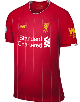 Liverpool home shirt, 2019-20