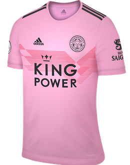 Leicester away kit, 2019-20