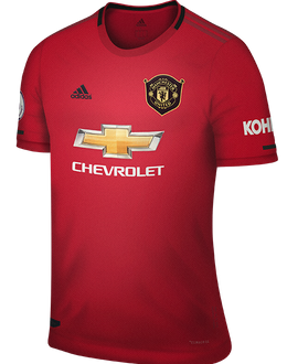 Man Utd home kit, 2019-20
