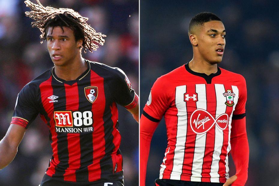 Nathan Ake of AFC Bournemouth and Yan Valery of Southampton
