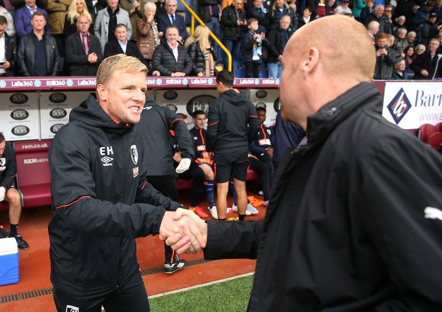 Eddie Howe and Sean Dyche