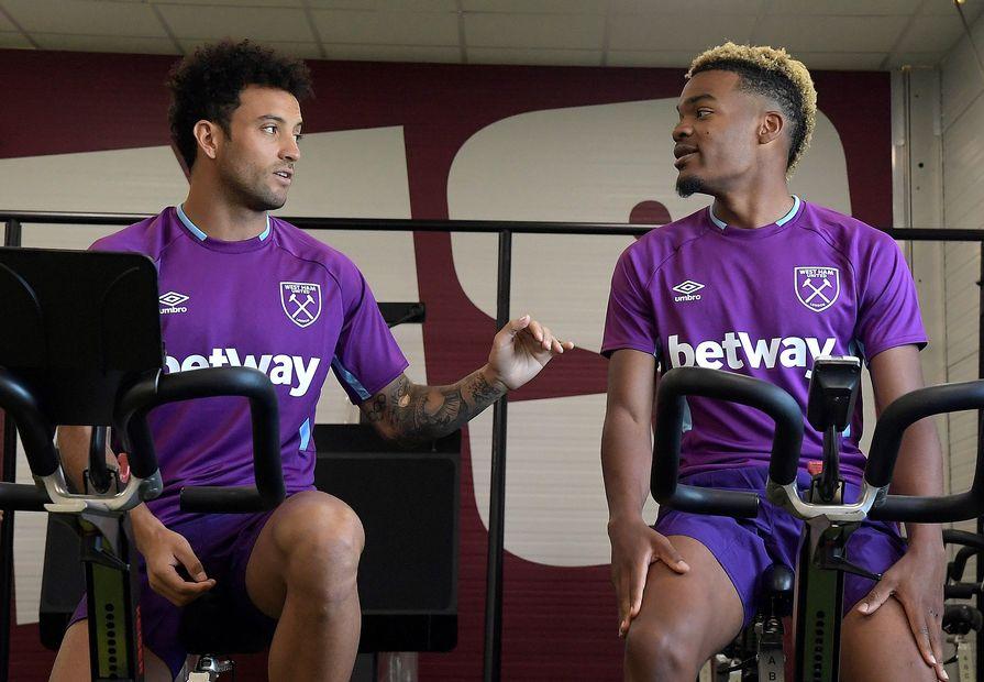 Felipe Anderson and Grady Diangana, West Ham