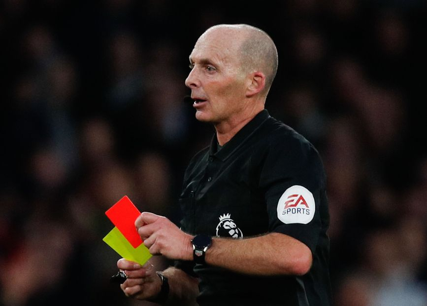 Mike Dean cards