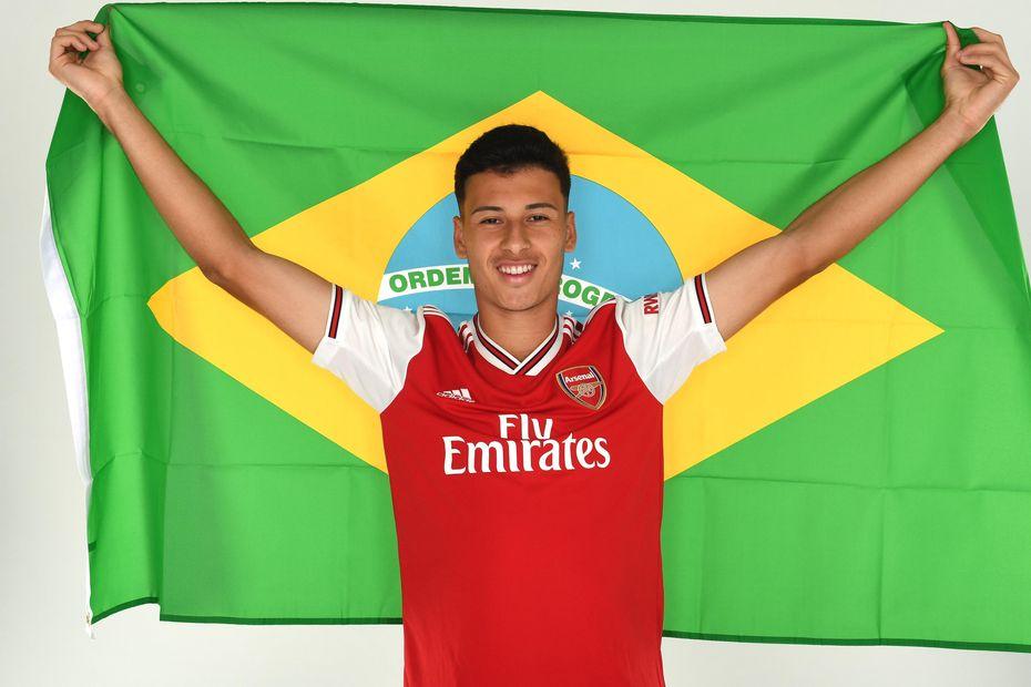 Arsenal Sign Brazilian Forward Martinelli