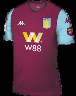 Aston Villa home kit, 2019-20