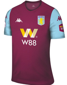 Aston Villa home kit, 2019-20