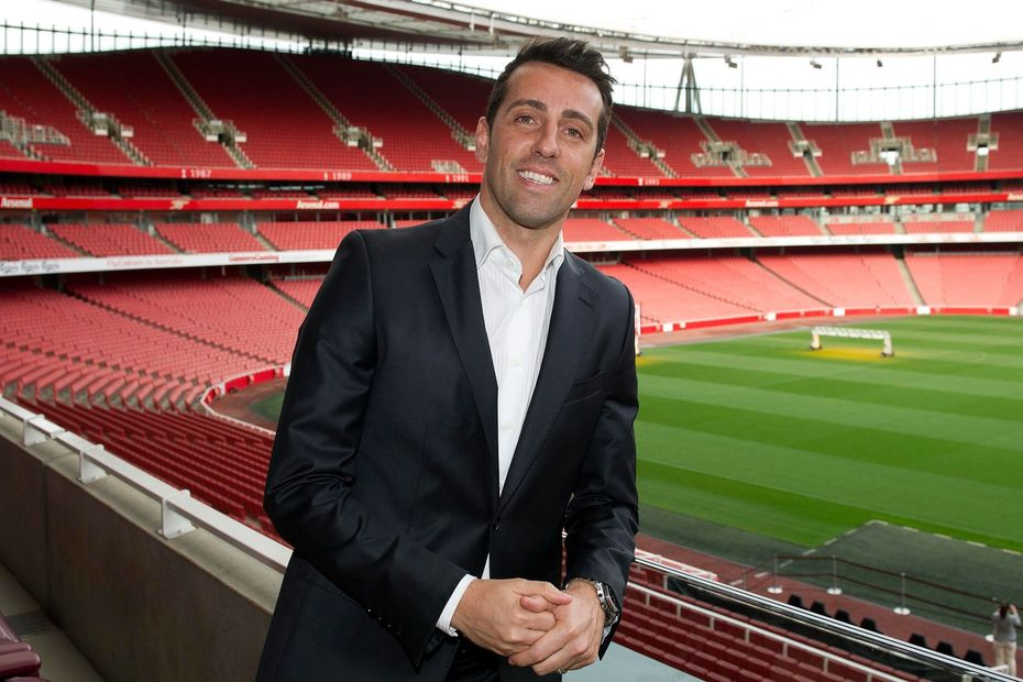 Edu back at Arsenal as technical director