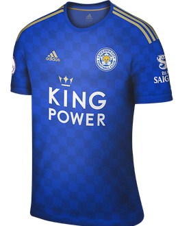 Leicester home kit, 2019-20