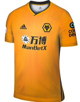 Wolves home kit, 2019-20