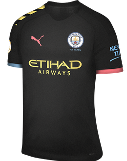 Man City away kit, 2019-20