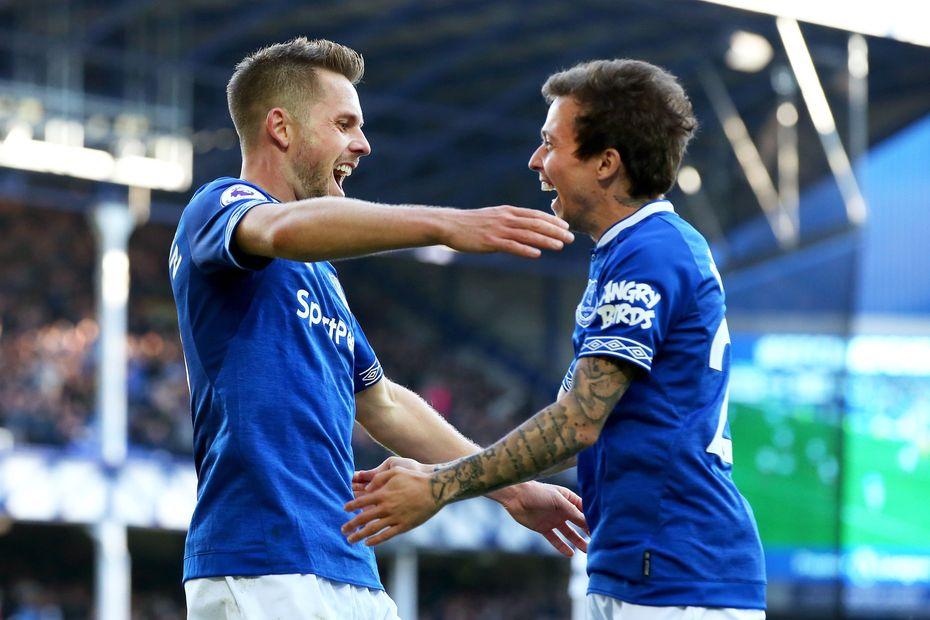 Sigurdsson and Bernard, Everton