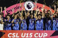Chinese U15s' once-in-a-lifetime CSL Cup experience