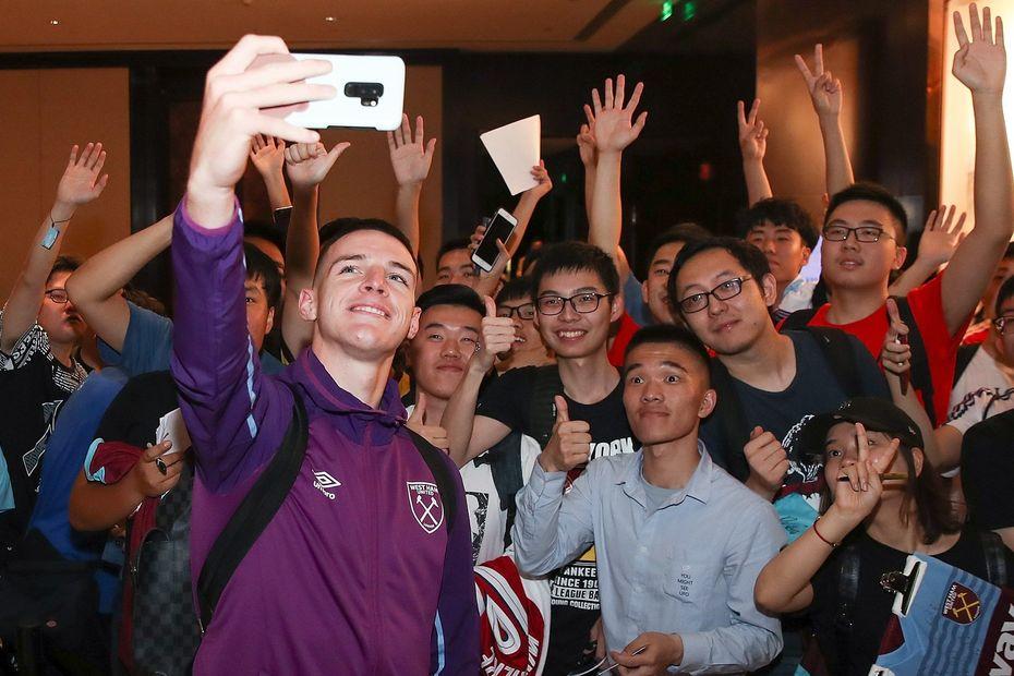 Declan Rice, West Ham, Premier League Asia Trophy