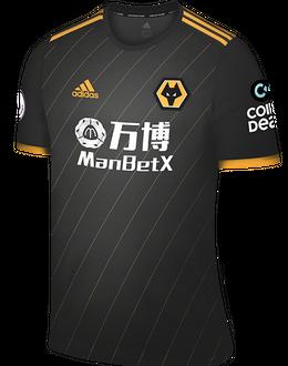 Wolves away shirt, 2019-20