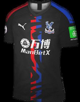 Crystal Palace away kit, 2019-20