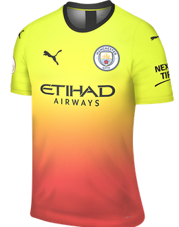 Man City third shirt, 2019-20