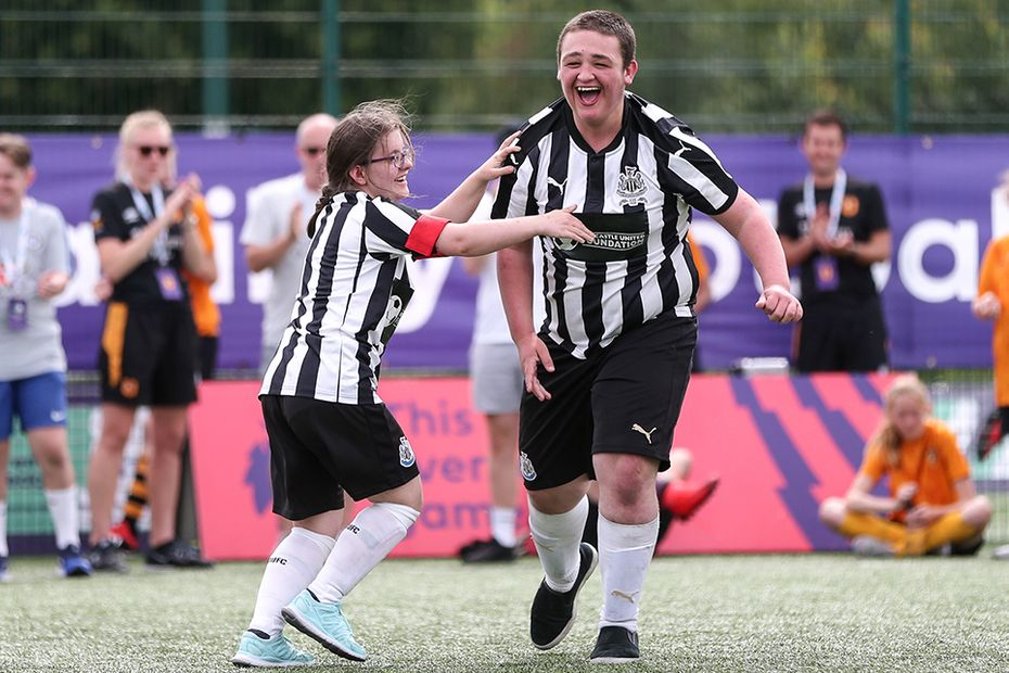 PL-BT Disability Football Festival Newcastle United