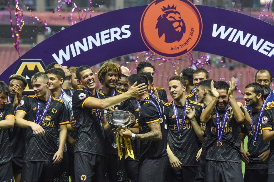 Wolves win Asia Trophy