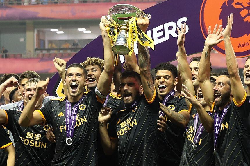 Wolves win the Premier League Asia Trophy