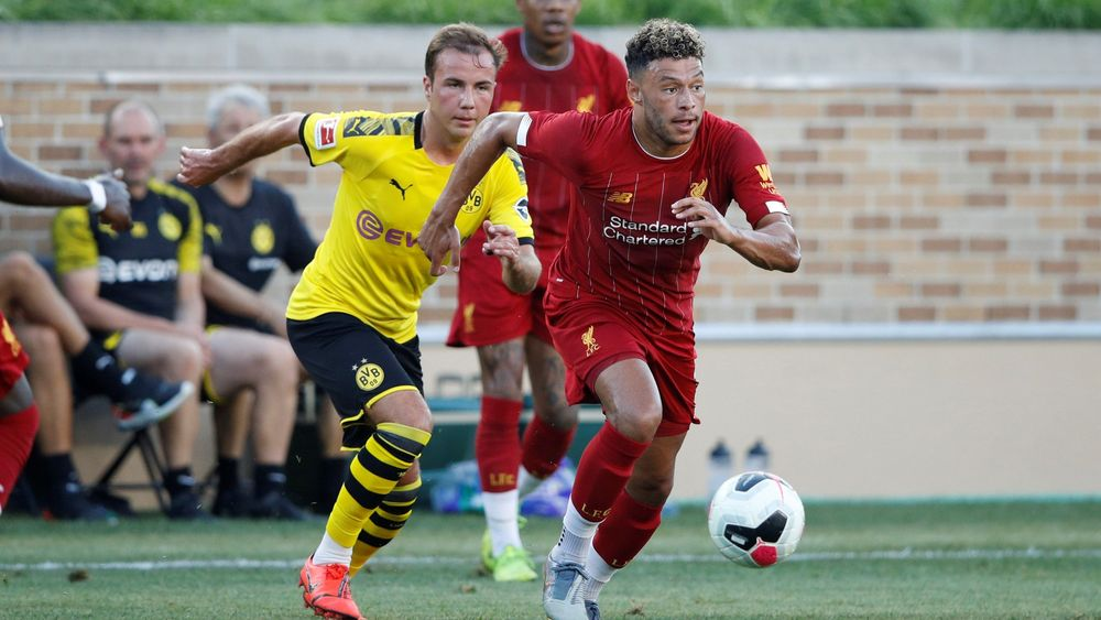 Alex Oxlade-Chamberlain, Liverpol BVB friendly