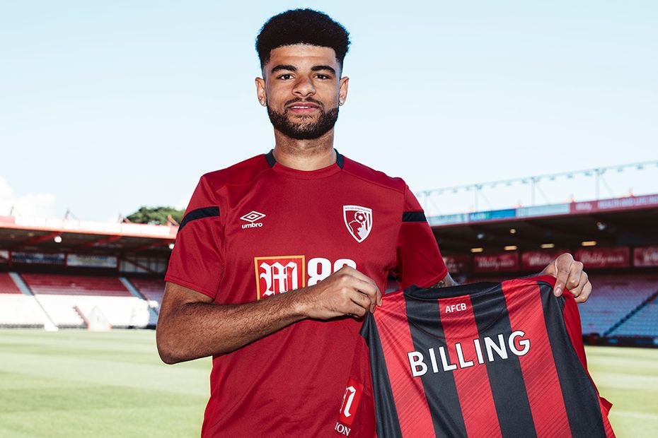 Philip Billing signs for AFC Bournemouth