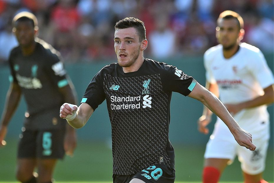 Andrew Robertson July 2019 Liverpool-Seville friendly