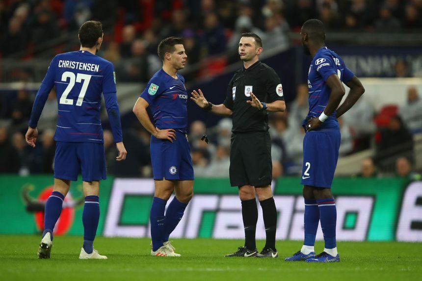 VAR EFL Cup Spurs v Chelsea