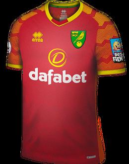 Norwich away shirt, 2019-20