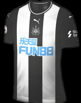 Newcastle home shirt, 2019-20