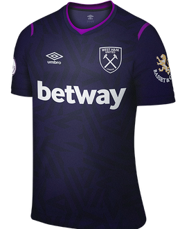 West Ham third shirt, 2019-20