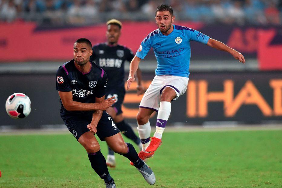 Bernardo Silva v West Ham