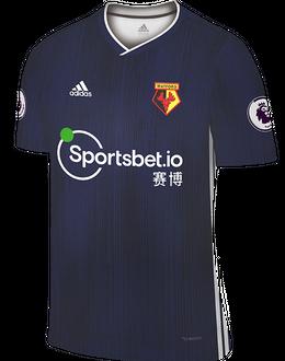 Watford away shirt, 2019-20