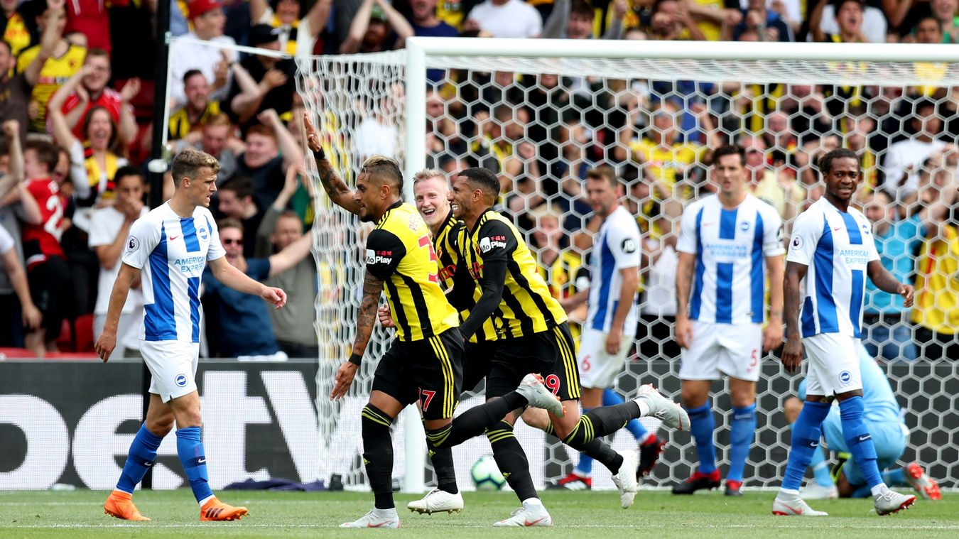 Watford v Brighton & Hove Albion