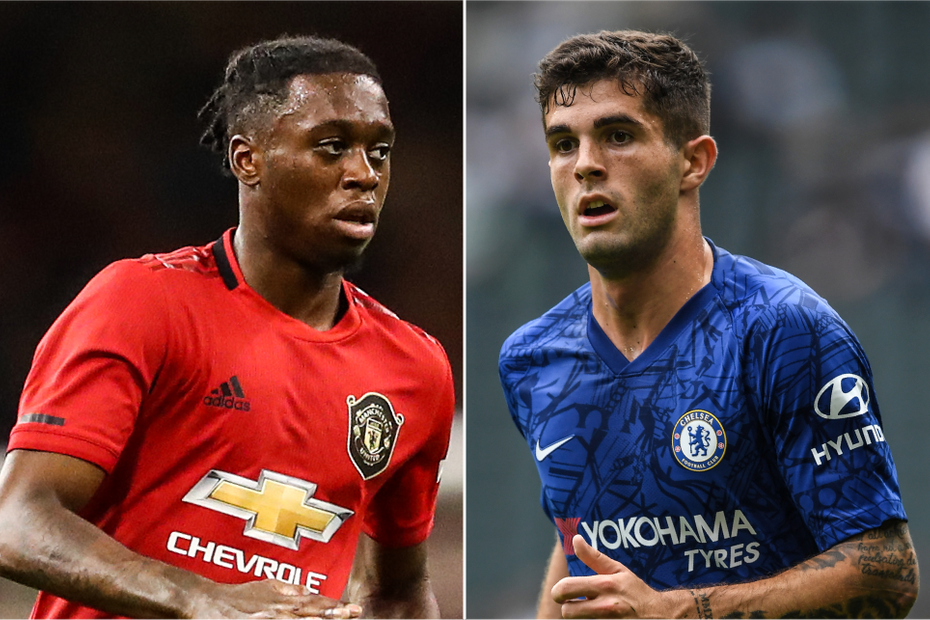 Wan-Bissaka and Pulisic composite