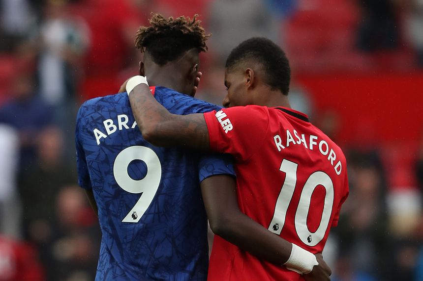 Tammy Abraham and Marcus Rashford