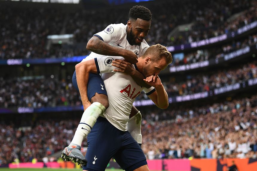 Harry Kane and Danny Rose, Spurs