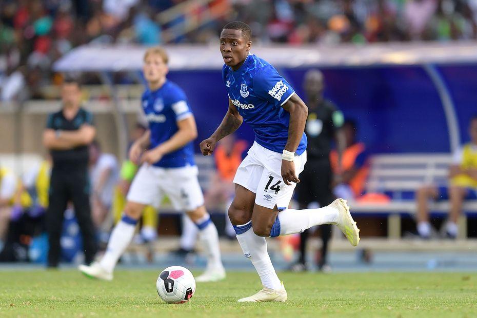 Dennis Adeniran, Everton
