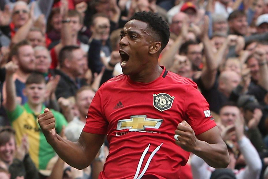 Image result for anthony martial 2019-20