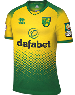 Norwich home shirt, 2019-20