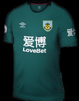 Burnley third shirt, 2019-20