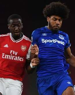 Arsenal in PL2 action against Everton