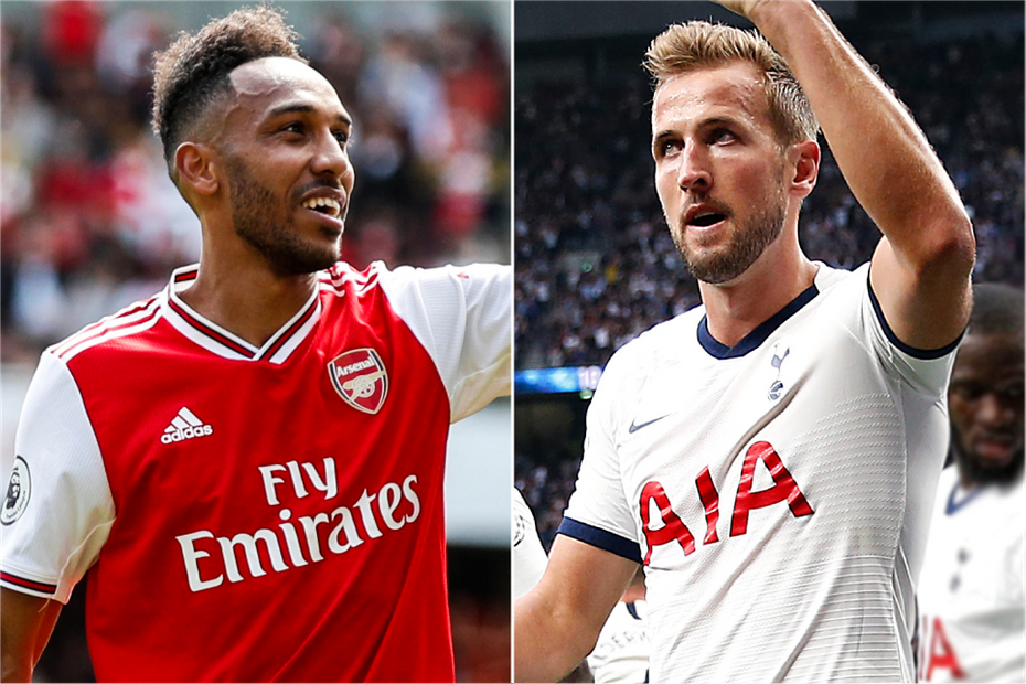 Pierre-Emerick Aubameyang, Harry Kane, wide
